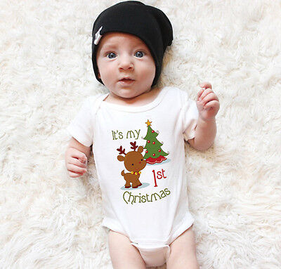 Baby Boy Girl Infant Toddler Newborn Clothes Romper Jumpsuit Bodysuit Outfits