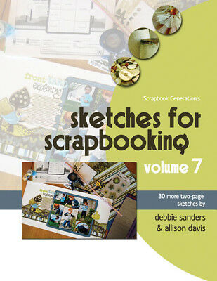 Scrapbook Generation Sketches For Scrapbooking Volume 7 SG-SV7