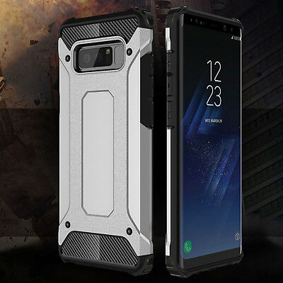 For Samsung Galaxy Note 8 Heavy Duty Armour Shockproof Rugged Hybrid Case Cover