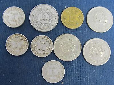 9 Morocco-old islamic coins