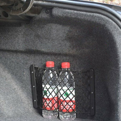 Universal General Car Trunk Fire Extinguisher Bags Net Luggage Box Pocket