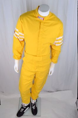 Rjs Racing Sfi 3-2A/1 New Classic 1 Pc Suit 2X Fire Suit Yellow 200040607