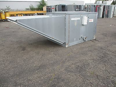 Rupp Direct Industrial Air Heater RAM18 RAM2-18-R918 208V 3Ph 3W 7500 SCFM Rated