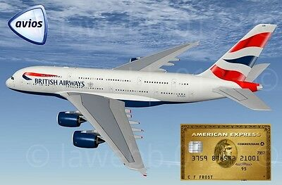 Collect Up to 28k Avios Airmiles - American Express Gold Card Amex Referral Code