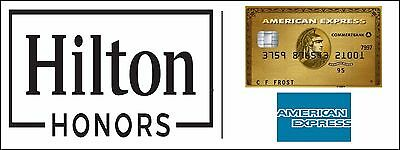 Amex American Express Gold Card Referral - Collect 56,000 Hilton Honors Points