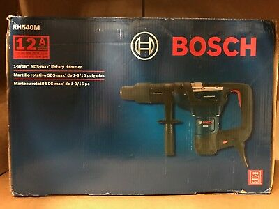 Bosch 12 Amp Corded 1-9/16 in. SDS-max Variable Speed Combination Rotary Hammer