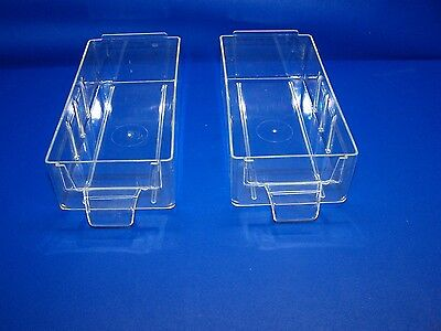 2 New, Wide, Wards Powr-Kraft, Vintage Storage Cabinet Replacement Drawers,