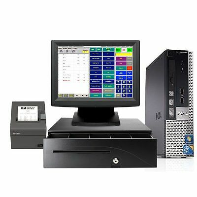Dell Refurbished Point Of Sale System - Bar Restaurant Pos New - Win 7 I3 4Gb