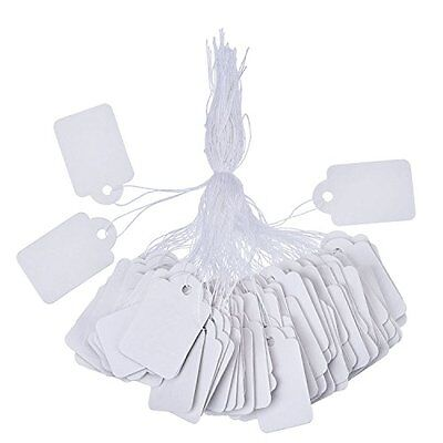 Outus White Marking Tags Price Tags Price Labels Display Tags with Hanging