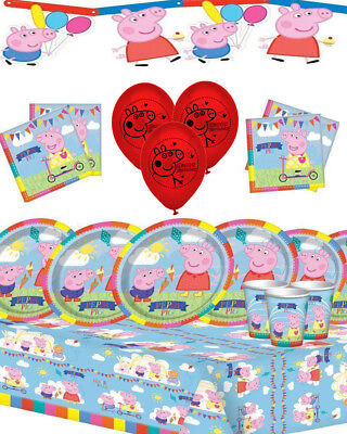 Peppa Pig Party Supplies Children's Birthday Party Peppa Pig Plastic TableCover