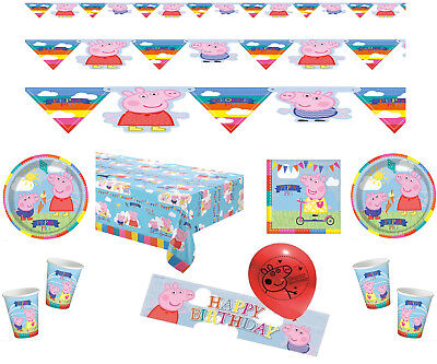 1.5M Peppa Pig Banner Decorate Room Banner Childrens Birthday Party Decorations