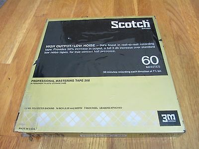 3m Scotch 206-1/4-600 Professional Recording Tape Factory Packaging