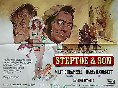 """Steptoe and Son 16"""" x 12"""" Reproduction Movie Poster Photograph 2"""