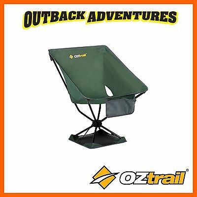 Oztrail Compaclite Discovery - Lightweight Chair - Green - Hiking Beach Camping