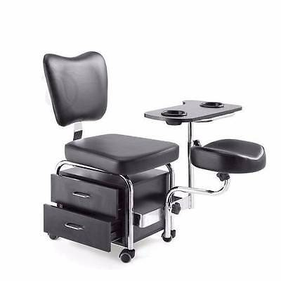 SALE Mani Pedi Storage Station Beautician Chair Spa Foot Rest Salon Equipment