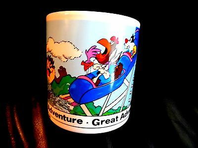 1980's Collectible Looney Tunes Great Adventure Theme Park Ceramic Mug Cup