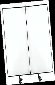 Sylex Great Divider Add-On Whiteboard Panel 2438mm High