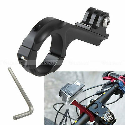 Aluminum Bike Handlebar Motorcycle Bar Mount Adapter for GoPro Hero 1 2 3 3+4