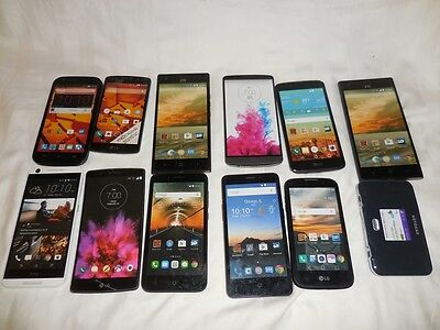 Lot of 12 Store DEMO DISPLAY PHONES (THEY DO NOT WORK) Smartphone gr8t for PROPS