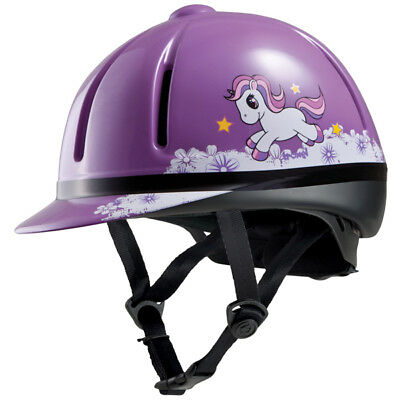 Troxel Legacy Purple Unicorn Helmet Horse And Equestrian