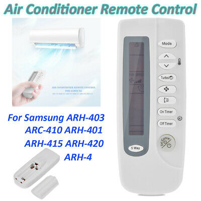 Air Conditioner Remote Control For Samsung ARC-410 ARH-401 ARH-403 ARH-415 ARH-4