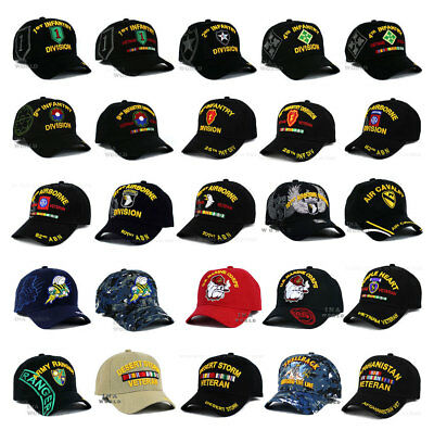 U.S. ARMY  NAVY  MARINE hat MILITARY Special Operation Forces Baseball cap