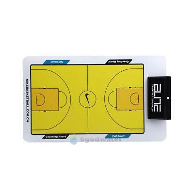 BW#A New Double Erasable Sided Erase Play Board for Coaching Basketball Tactic