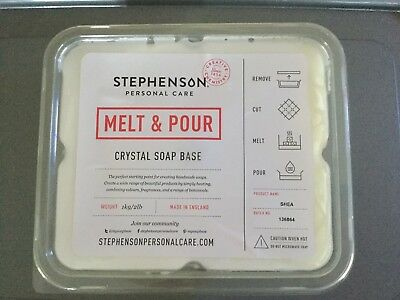 Melt And Pour Soap Base Shea Butter Crystal Soap Base For Soap Making 1kg