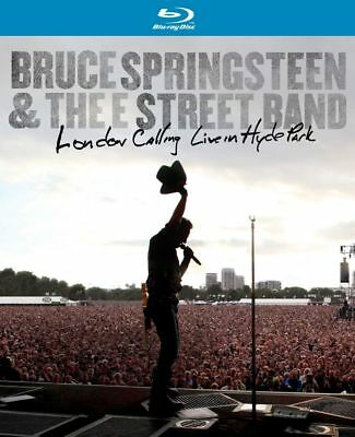 BRUCE SPRINGSTEEN - London Calling : Live In Hyde Park BLU-RAY *NEW* E-Street