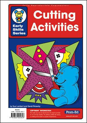 NEW Early Skills Series - Cutting Activities by R.I.C. Publications