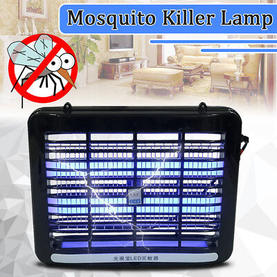 2W 220V LED Zapper UV Electronic Bug Fly Insect Mosquito Killer Trap Lamp Light