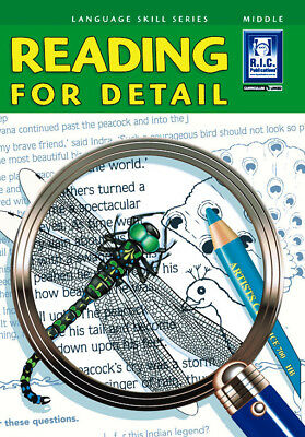 NEW Reading for Detail - Ages 8-10 by R.I.C. Publications