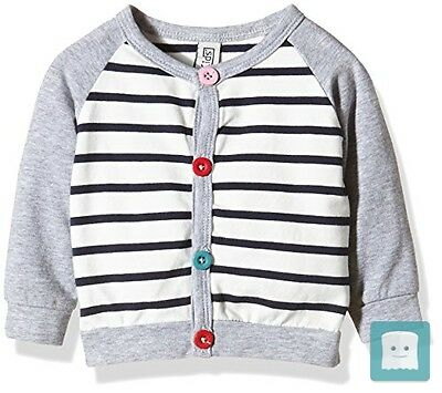 Magic Kids Sweater With Stripes-Cardigan Bambina , 68 Cm