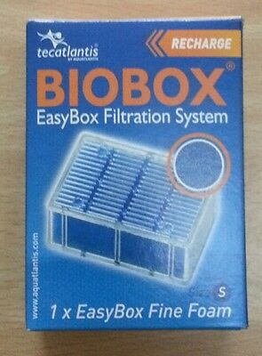 Lot de 2 recharges BIOBOX Easybox Filtration System mailles fines S