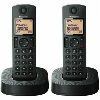 Panasonic Digital Cordless Home Dect  Phone  Black New KX-TGC312EB