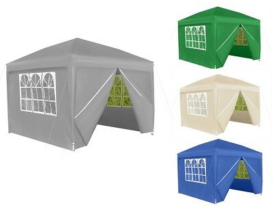 Garden Pavillon Pop-up tent 3x3m Beer Pavilion with o. without Sidewalls #2197