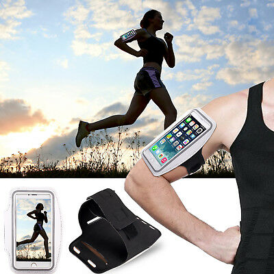 "5.5/5.2"" Sports Running Jogging Riding Gym Armband Arm Band Case Cover For Phone"