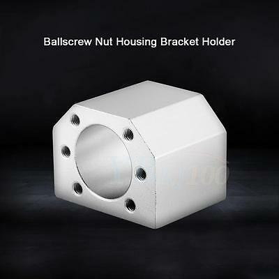 Aluminum Ballscrew Nut Housing Mounting Bracket Holder For 1604 1605 1610 DSG16H