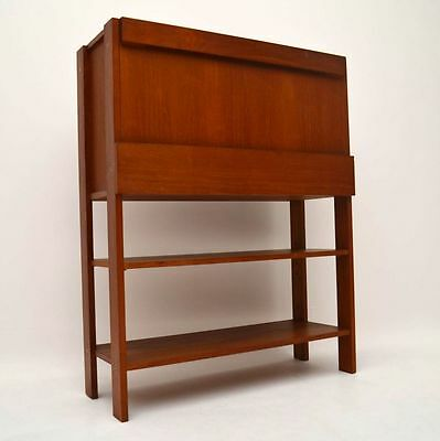 DANISH TEAK RETRO DRINKS CABINET VINTAGE 1960's