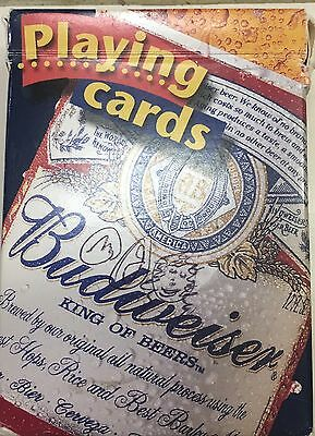 """Budweiser """"King Of Beers"""" Playing Cards - 2000 Anheuser-Busch, Inc."""