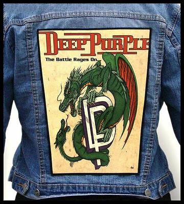 DEEP PURPLE - The Battle Rages On... --- Giant Backpatch Back Patch