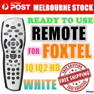 Remote Control Controller Replacement Silver For Foxtel Mystar PayTV IQ2 IQ3