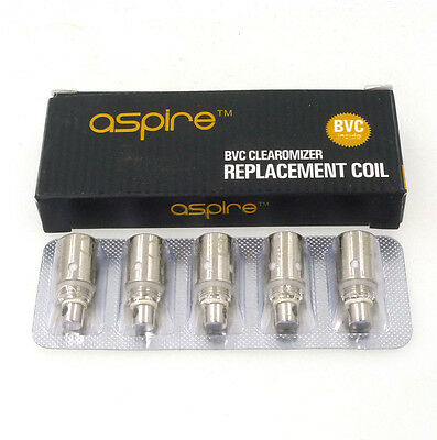 5pcs Aspire BVC Bottom Vertical Replacement Coil for K1 ET ET-S CE5S Vivi Nova