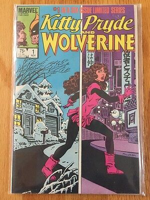 Kitty Pryde and Wolverine 1-6 Complete Set 1984 1 2 3 4 5 6 Full Run Lot X-Men