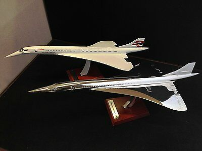 Lot de 2 avions Concorde British Airways 1/200 - Collection Atlas miniature