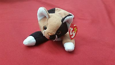3c58b472bb2 1996 RETIRED RARE Chip Beanie Baby Collectible Cat TY brand with Tag ...