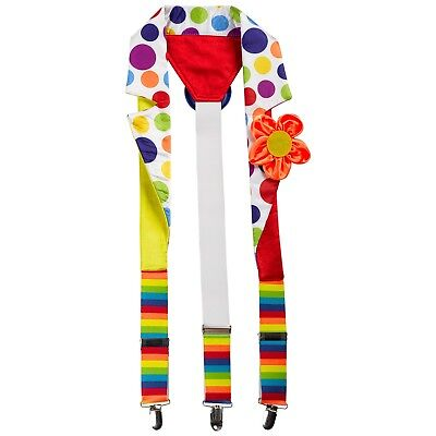 FANCY DRESS Deluxe Clown Braces