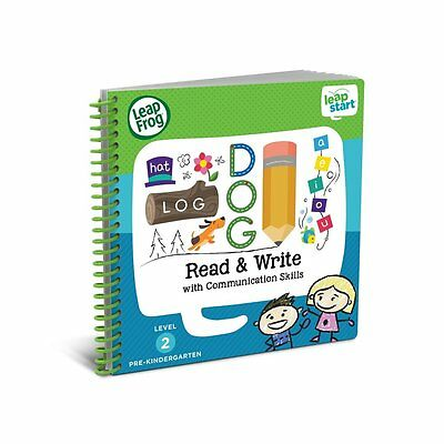 LeapFrog LeapStart Preschool Activity Book: Read and Write and Communication
