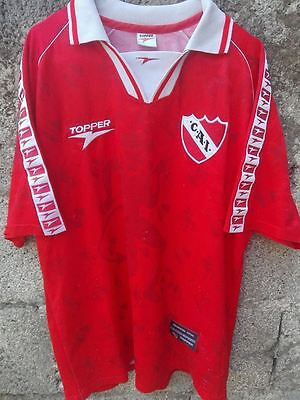 vtg 1990's CLUB ATLETICO INDEPENDIENTE maglia calcio football shirt maillot