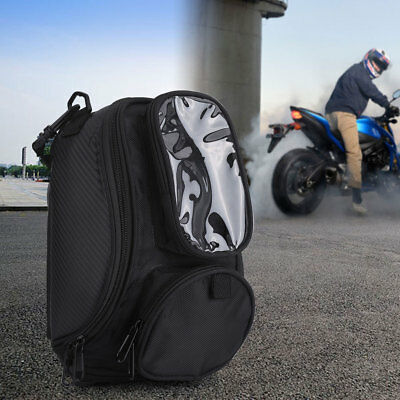 Motorcycle TANK OIL FUEL Magnetic BAG Motorbiker Oxford Waterproof Saddlebag MF
